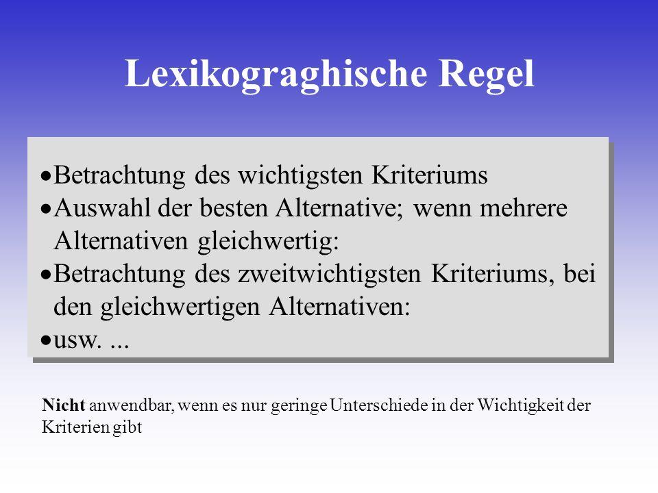 Lexikograghische Regel