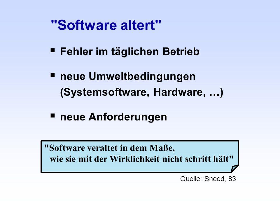 Software altert Fehler im täglichen Betrieb