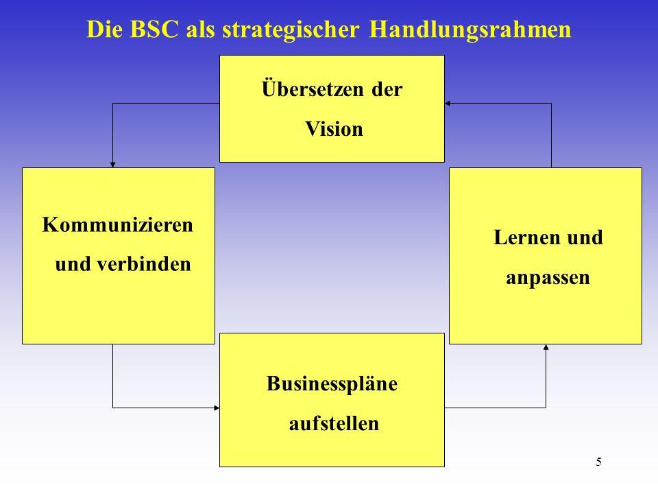 Die BSC als strategischer Handlungsrahmen
