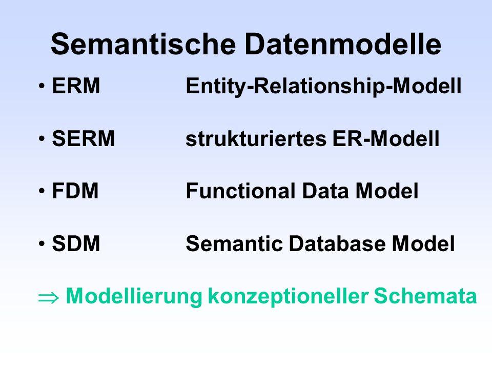 Semantische Datenmodelle