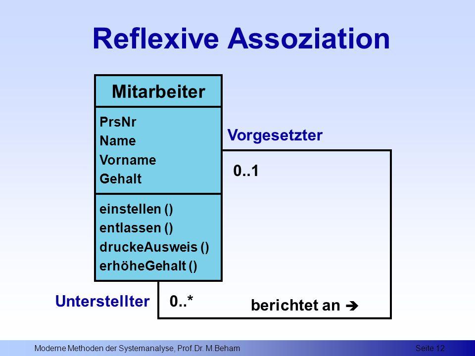 Reflexive Assoziation