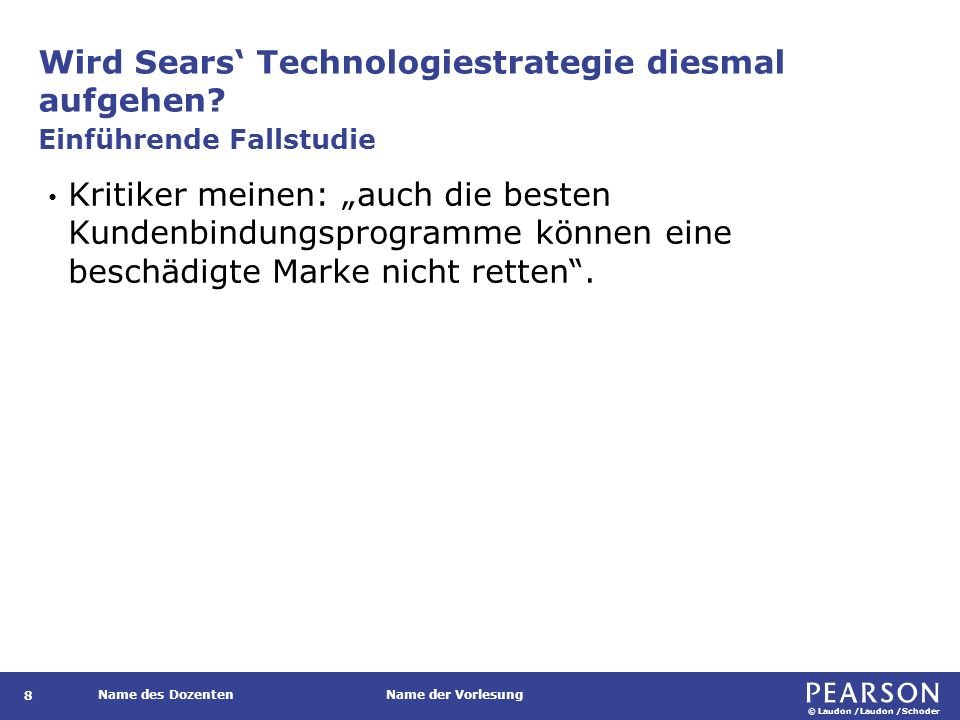 Wird Sears' Technologiestrategie diesmal aufgehen