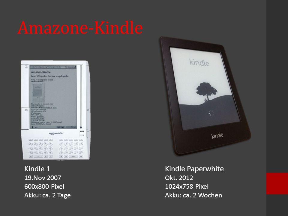 Amazone-Kindle Kindle 1 Kindle Paperwhite 19.Nov 2007 600x800 Pixel