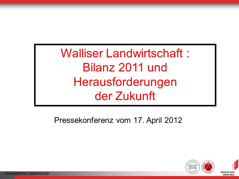 Walliser Landwirtschaft :