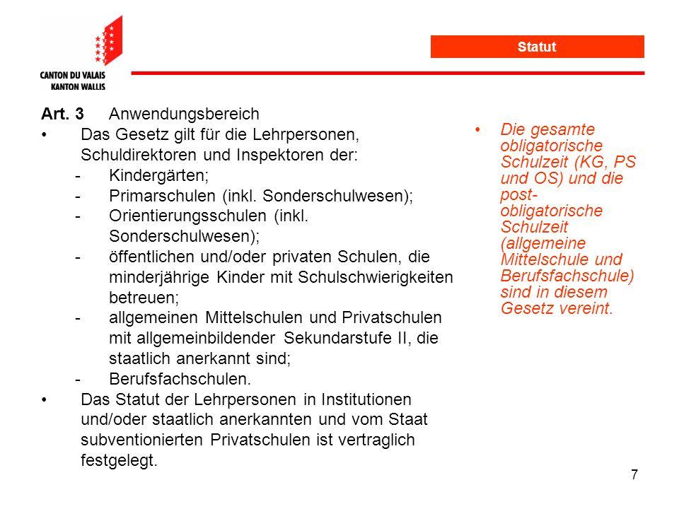 Art. 3 Anwendungsbereich