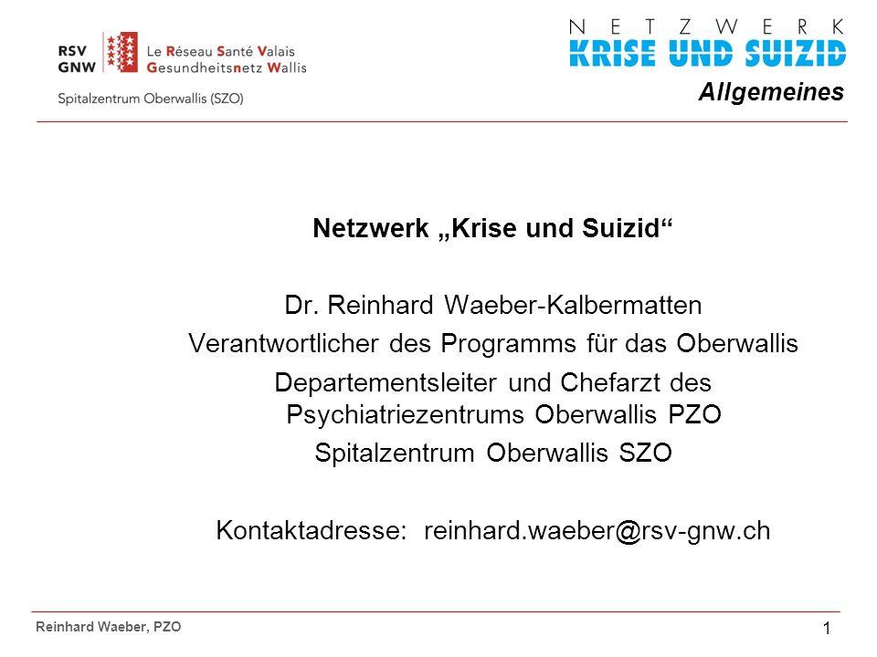 """Netzwerk """"Krise und Suizid"""