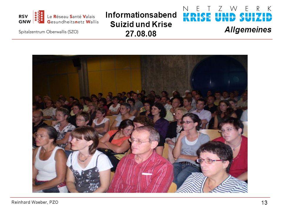 Informationsabend Suizid und Krise 27.08.08