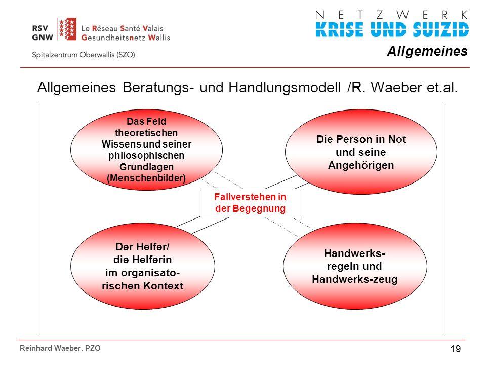 Allgemeines Beratungs- und Handlungsmodell /R. Waeber et.al.