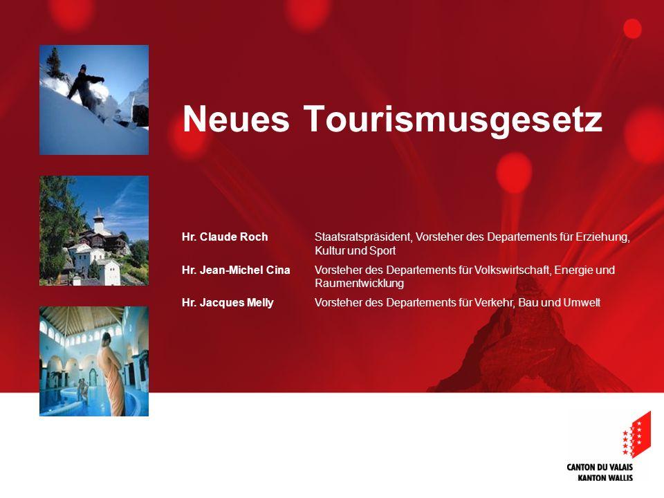 Neues Tourismusgesetz