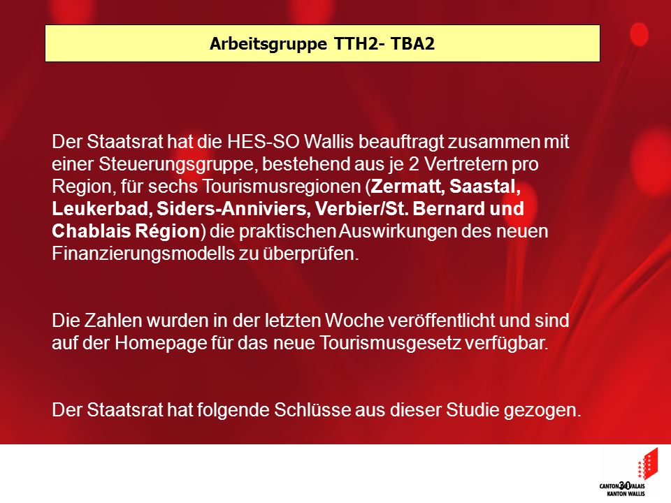 Arbeitsgruppe TTH2- TBA2