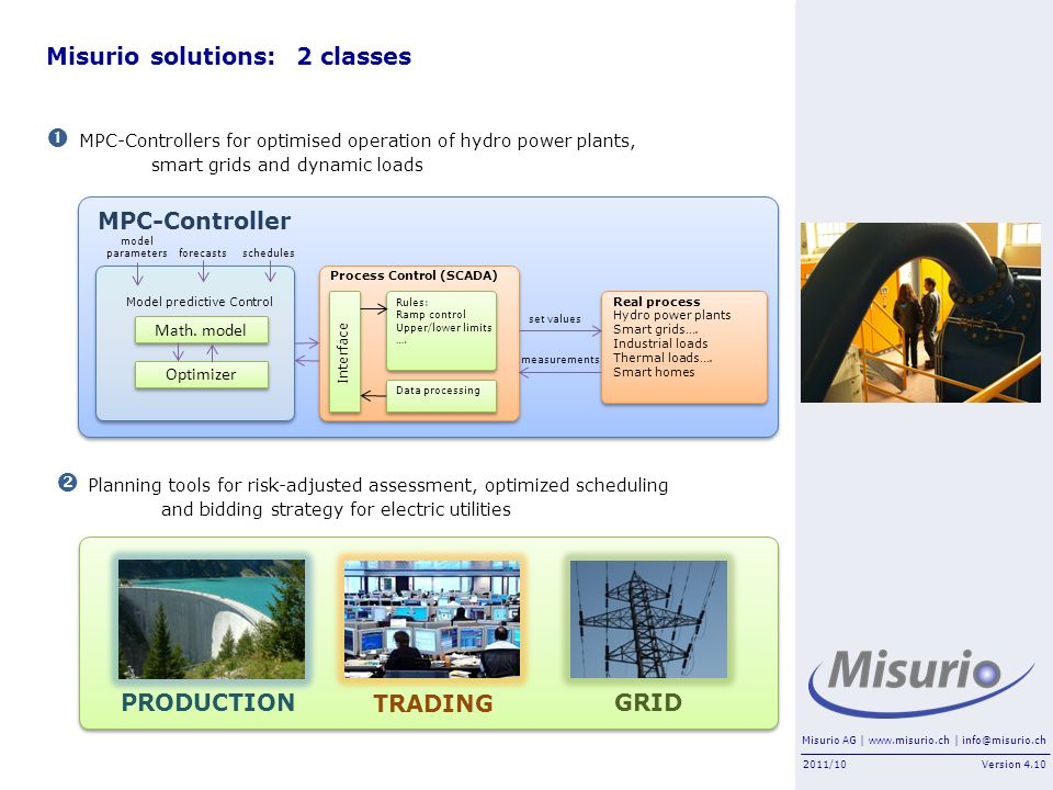 Misurio solutions: 2 classes