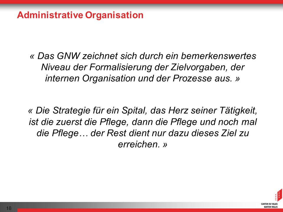 Administrative Organisation
