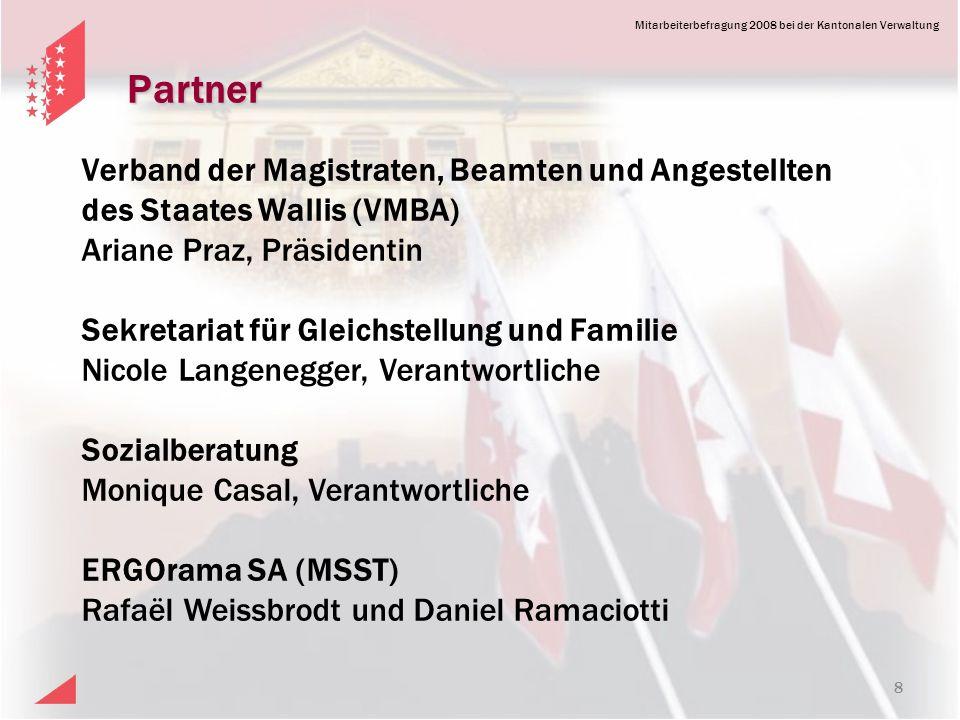 Partner Verband der Magistraten, Beamten und Angestellten des Staates Wallis (VMBA) Ariane Praz, Präsidentin.