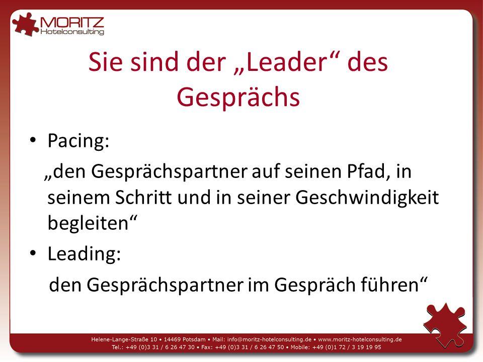"""Sie sind der """"Leader des Gesprächs"""