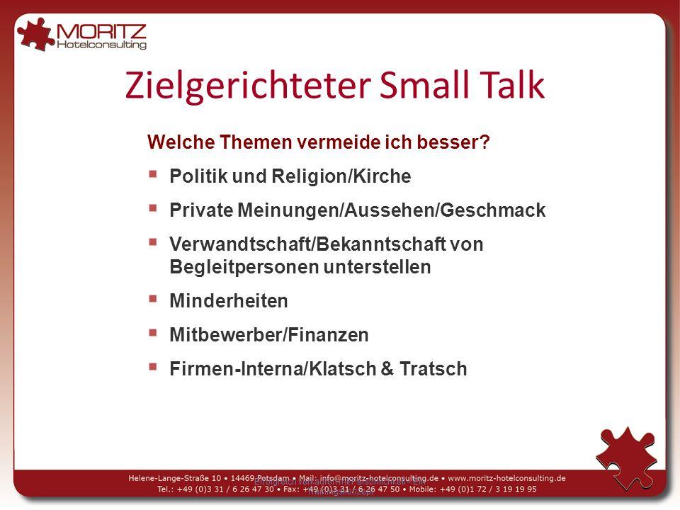 Zielgerichteter Small Talk