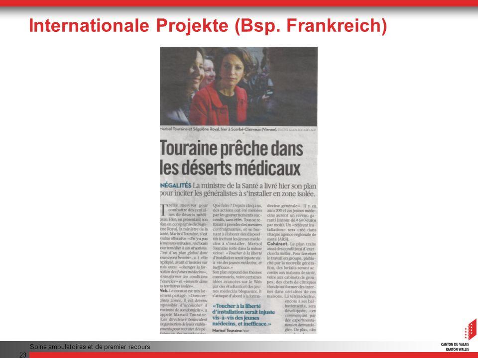 Internationale Projekte (Bsp. Frankreich)
