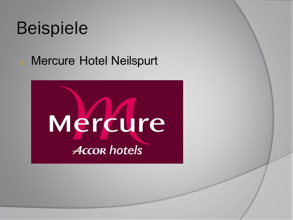 Beispiele Mercure Hotel Neilspurt
