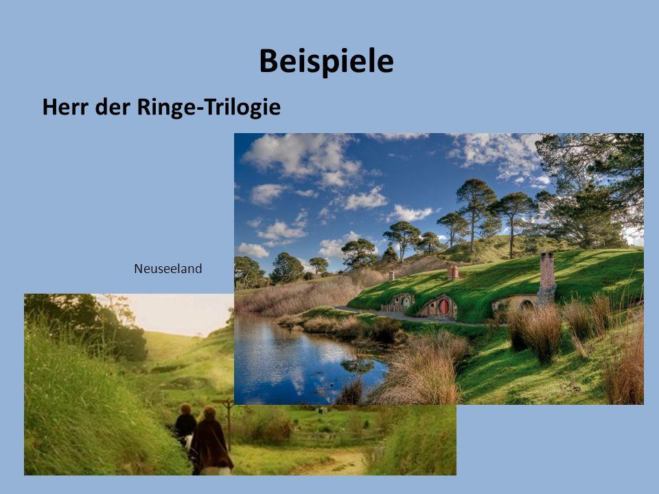Beispiele Herr der Ringe-Trilogie Neuseeland