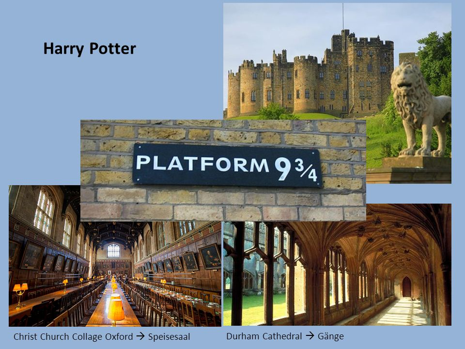 Harry Potter Alnwick Castle  Hogwarts