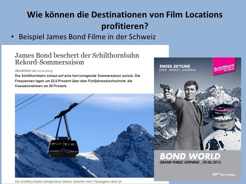 Wie können die Destinationen von Film Locations profitieren