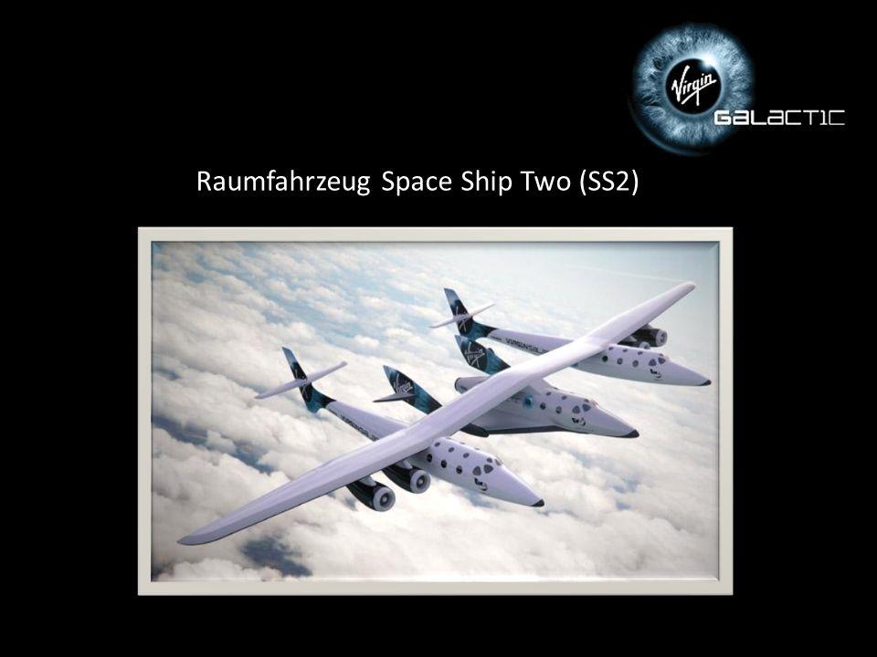 Raumfahrzeug Space Ship Two (SS2)