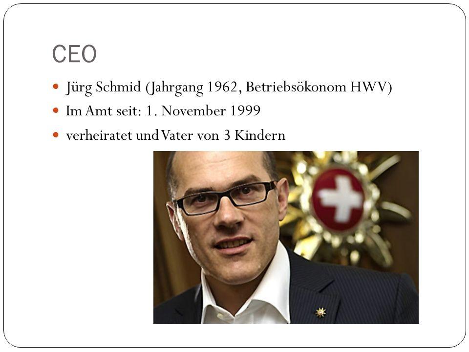 CEO Jürg Schmid (Jahrgang 1962, Betriebsökonom HWV)