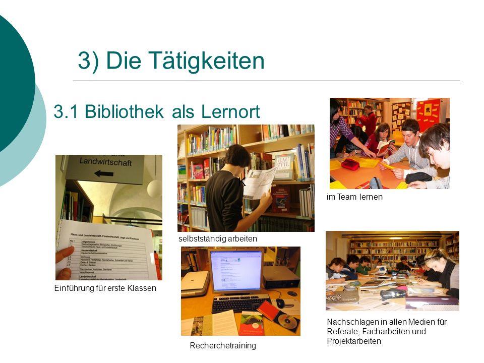 3.1 Bibliothek als Lernort