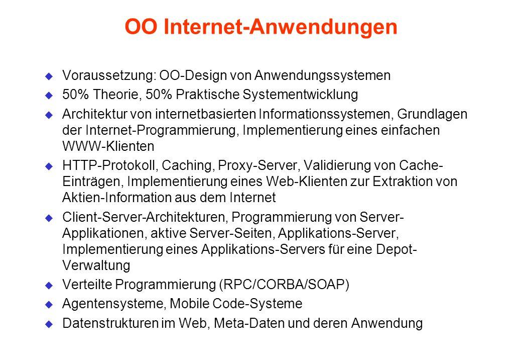 OO Internet-Anwendungen