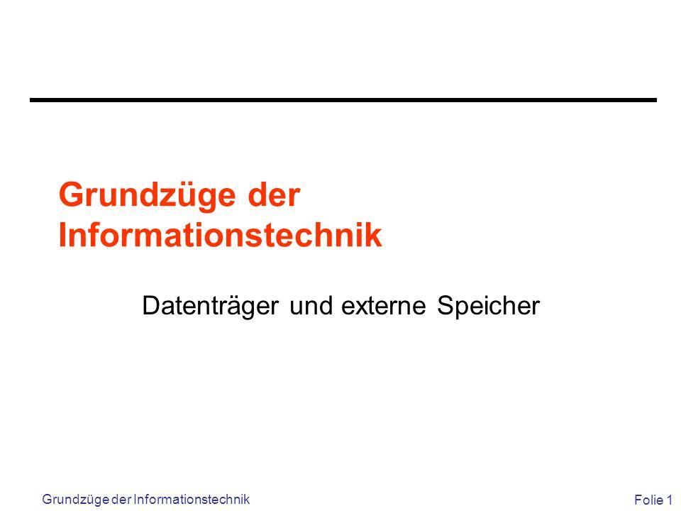 Grundzüge der Informationstechnik