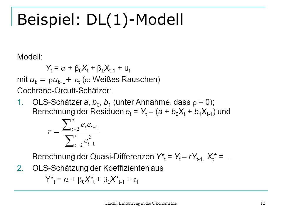 Beispiel: DL(1)-Modell