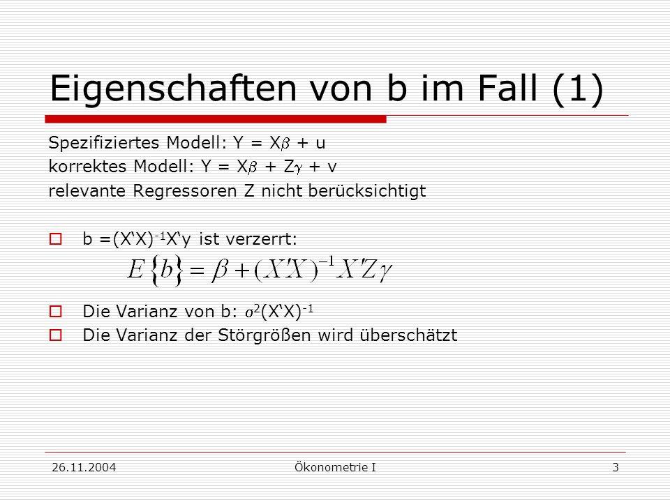 Eigenschaften von b im Fall (1)