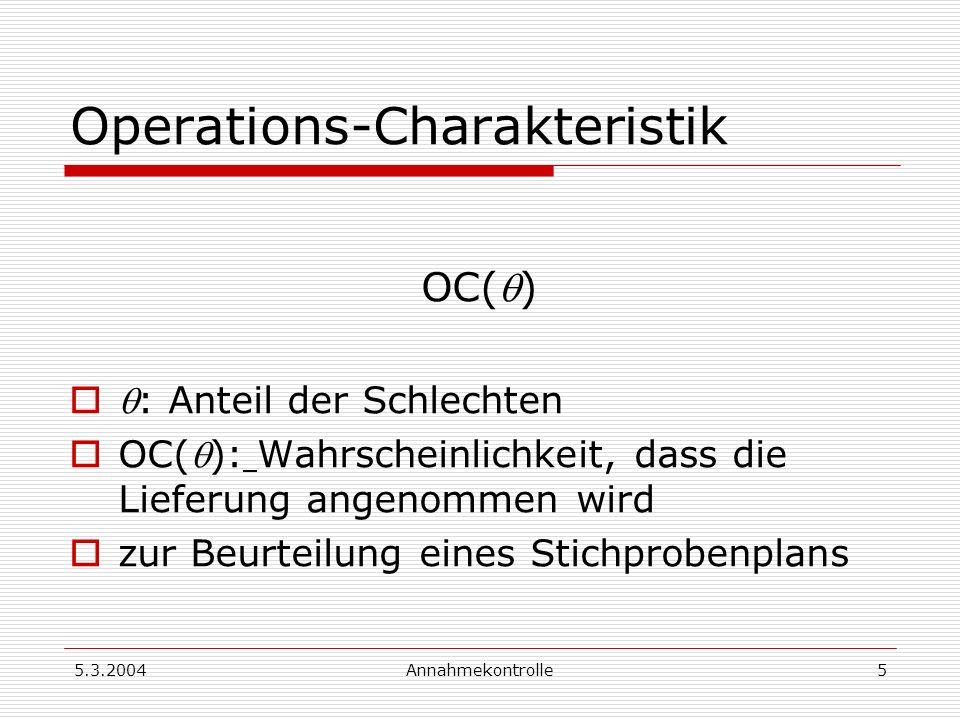 Operations-Charakteristik