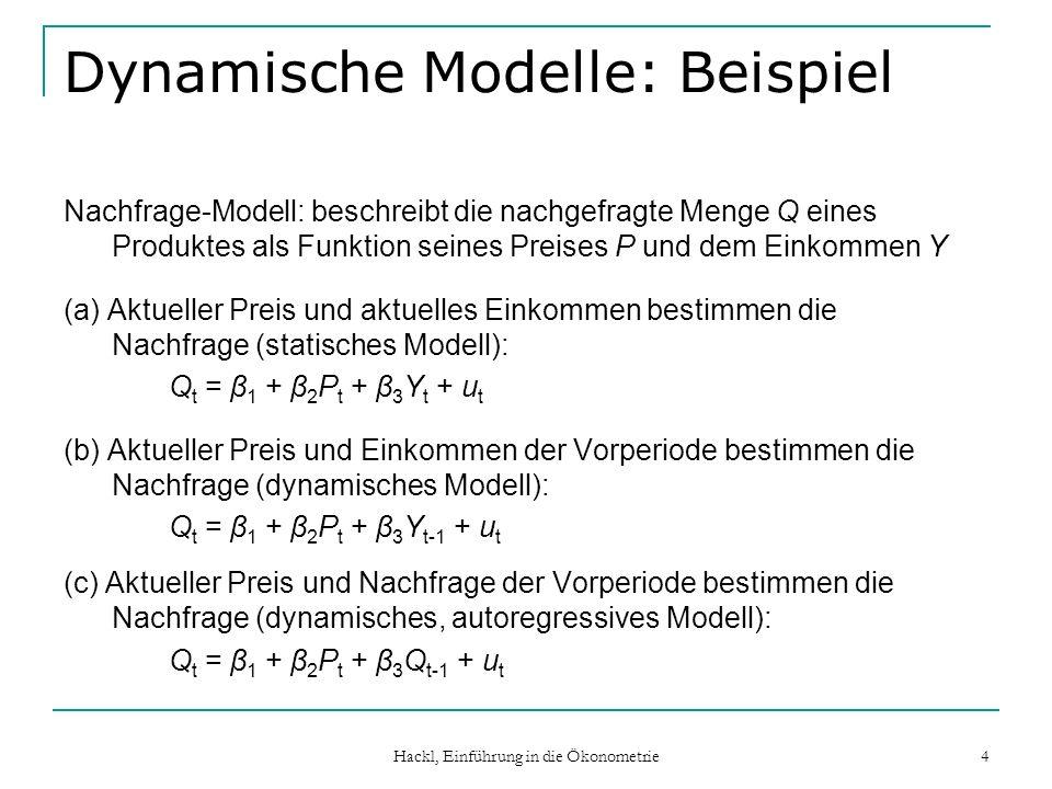 Dynamische Modelle: Beispiel