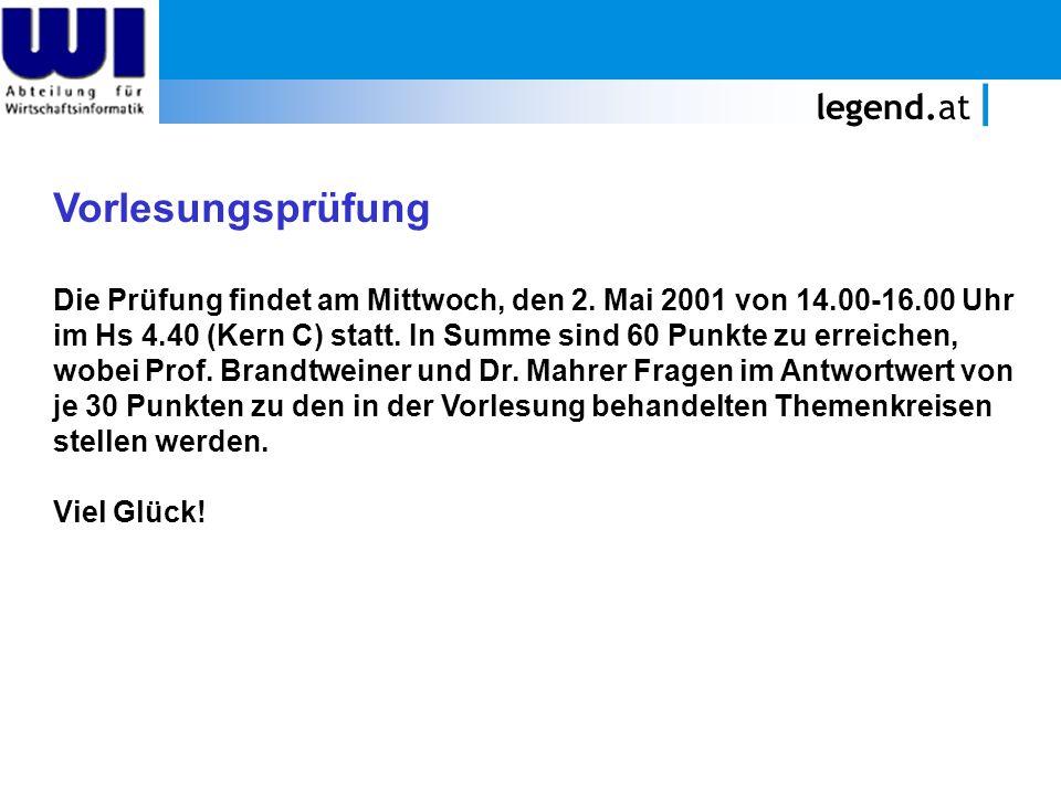Vorlesungsprüfung legend.at