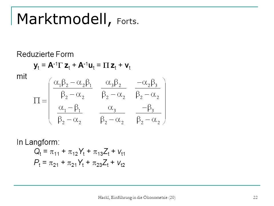 Hackl, Einführung in die Ökonometrie (20)
