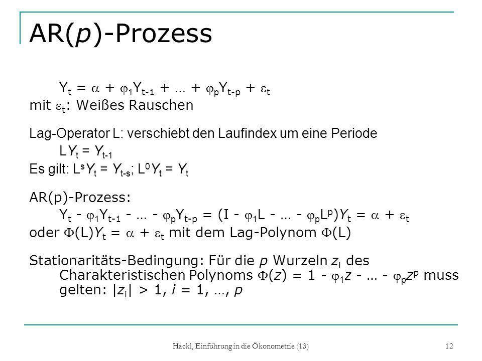 Hackl, Einführung in die Ökonometrie (13)