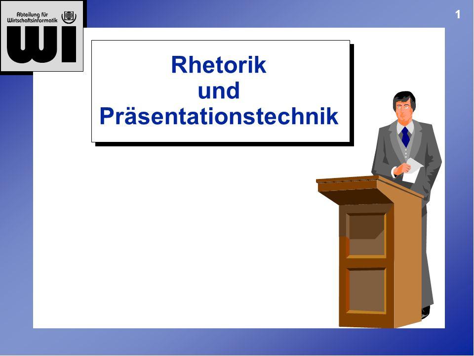 Rhetorik und Präsentationstechnik