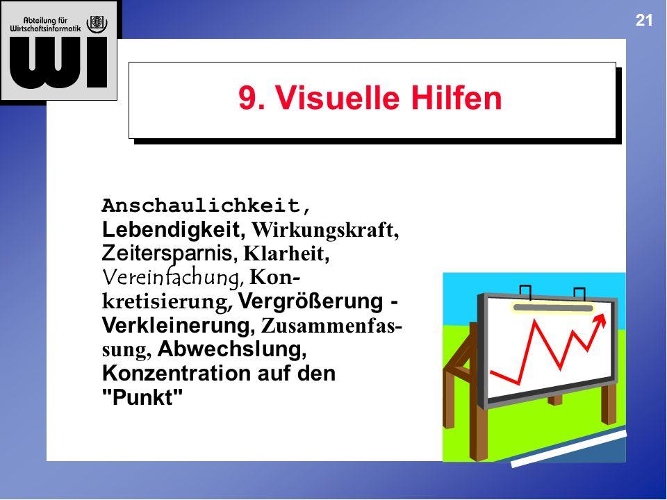 9. Visuelle Hilfen