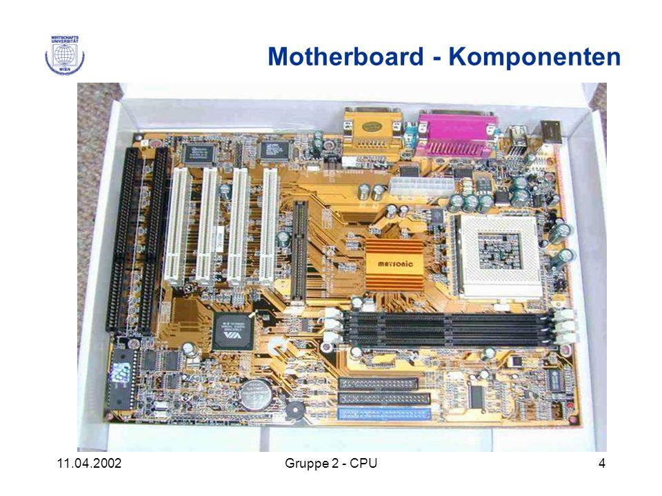 Motherboard - Komponenten