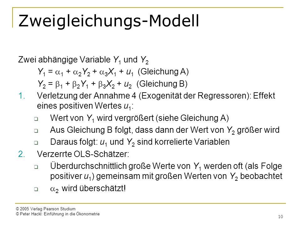 Zweigleichungs-Modell