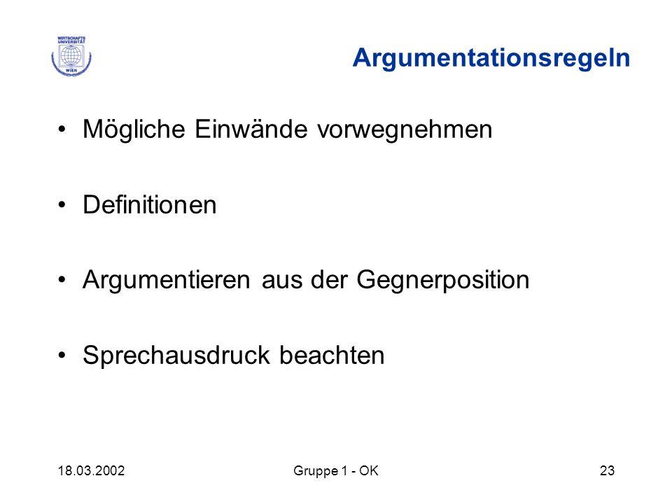 Argumentationsregeln