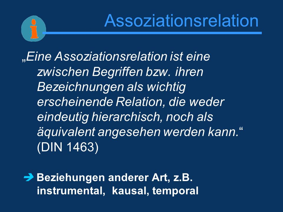 Assoziationsrelation