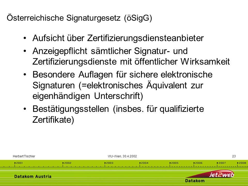 Österreichische Signaturgesetz (öSigG)