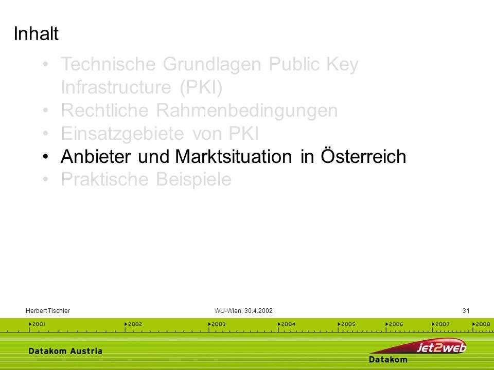 Technische Grundlagen Public Key Infrastructure (PKI)