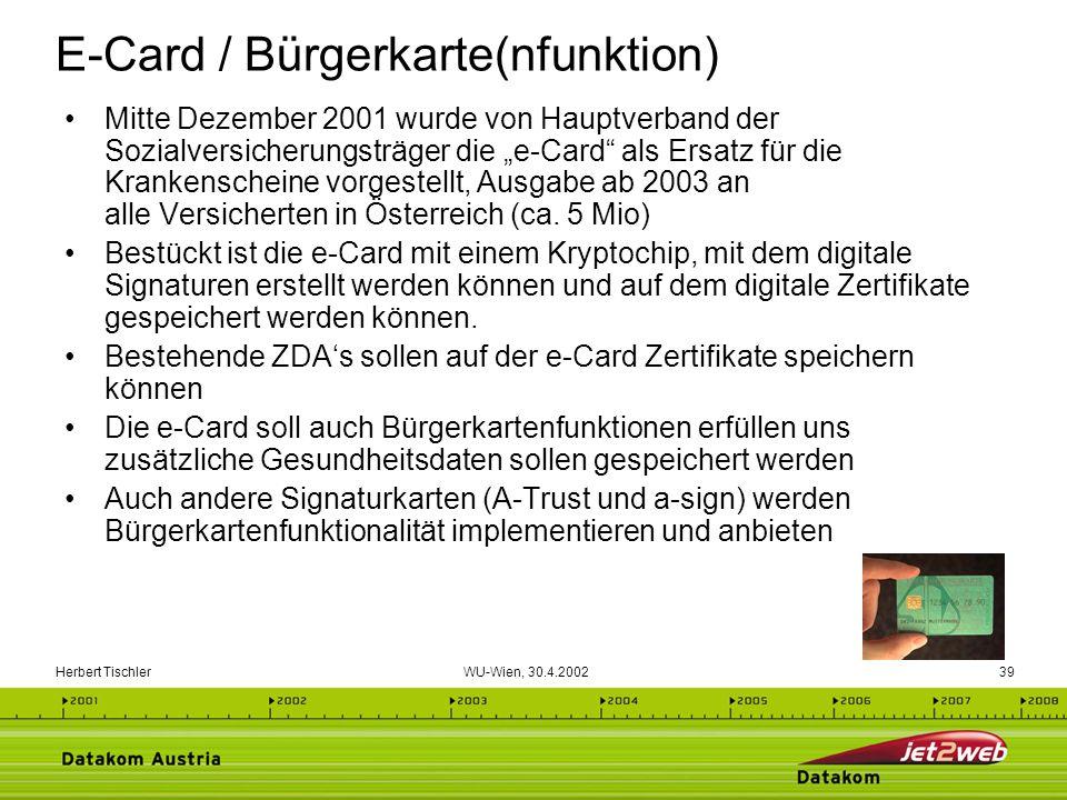 E-Card / Bürgerkarte(nfunktion)