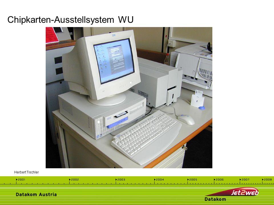 Chipkarten-Ausstellsystem WU