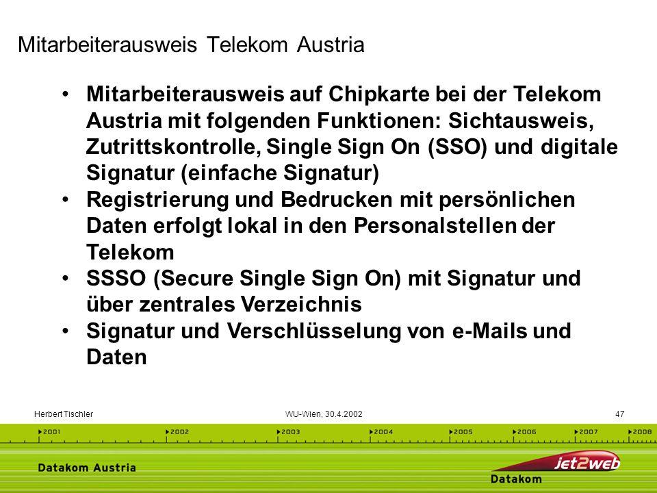 Mitarbeiterausweis Telekom Austria