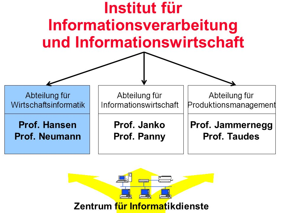 Institut für Informationsverarbeitung und Informationswirtschaft