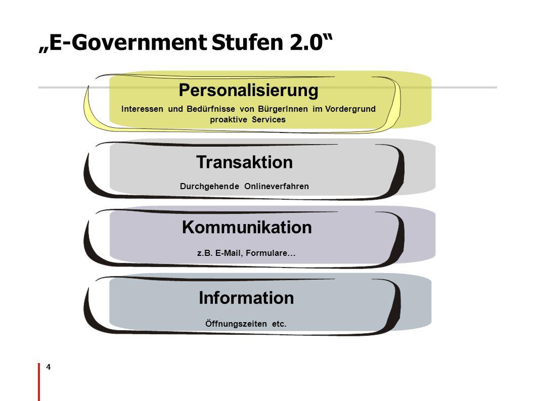 """""""E-Government Stufen 2.0"""