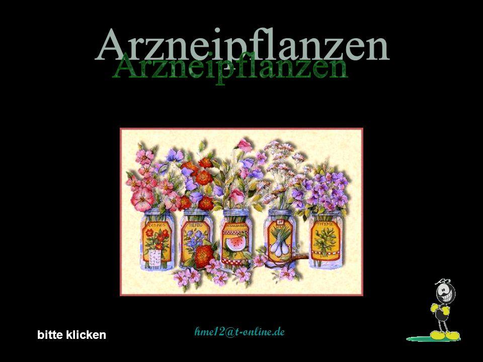 Arzneipflanzen hme12@t-online.de bitte klicken
